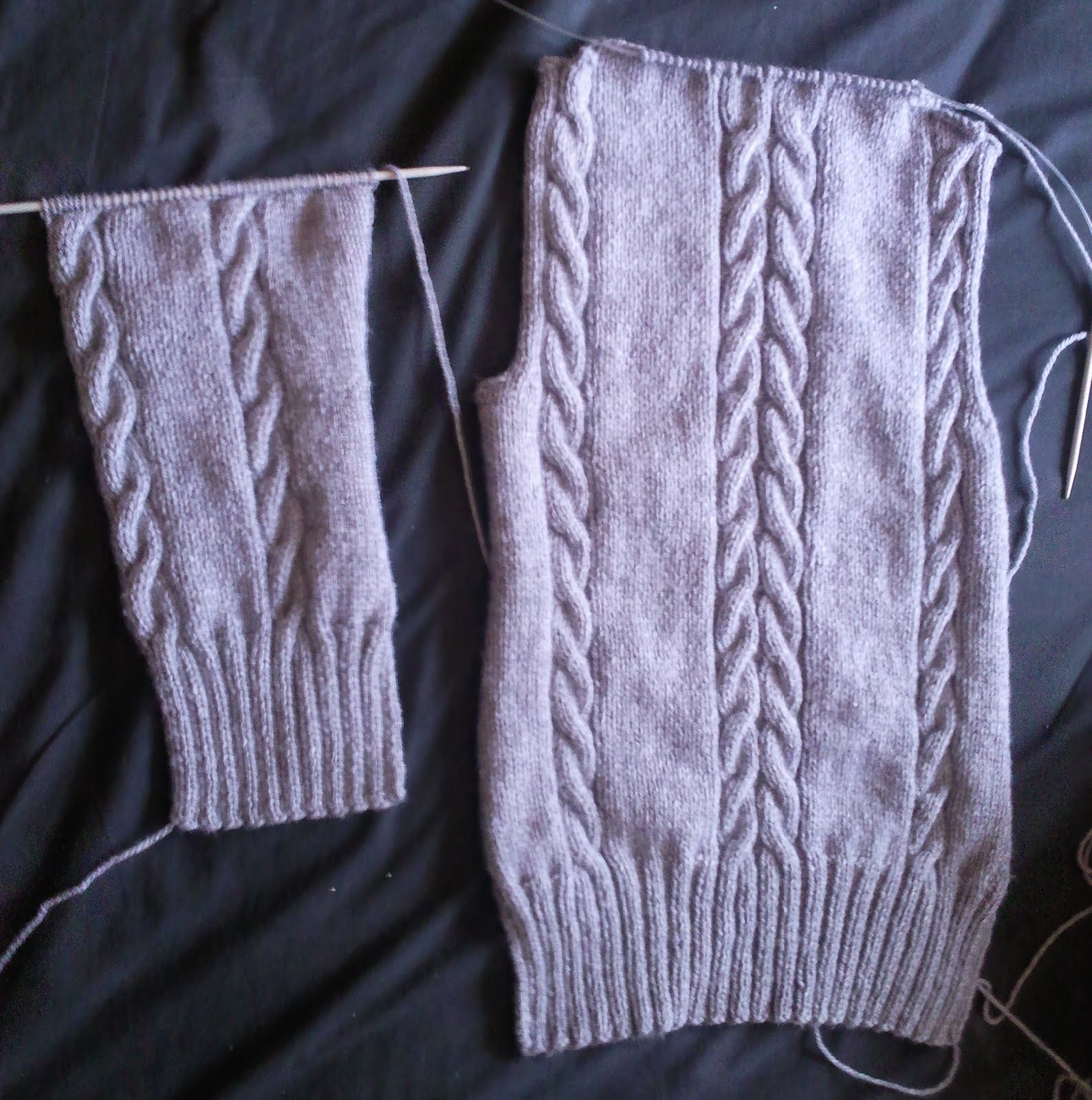 Central Park Hoodie Knitting Pattern Free : Knit one, Stitch one, Save one?: WIP Wednesday