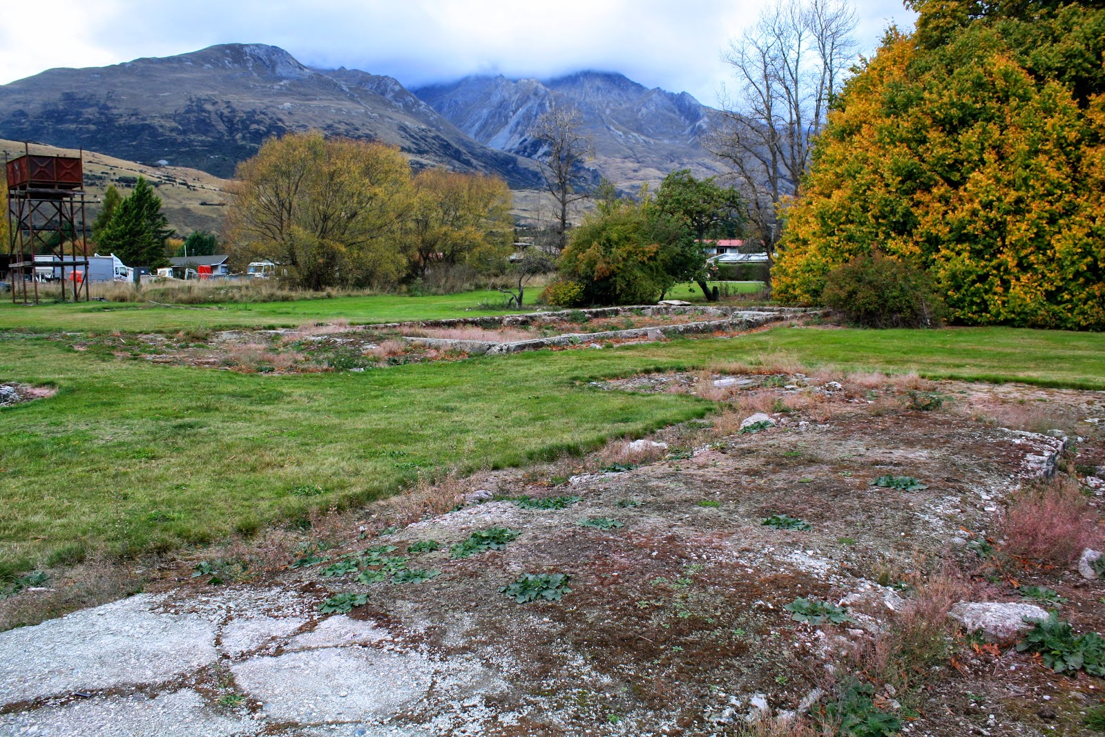 Ruins in Glenorchy.