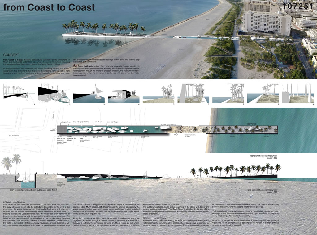 Architectural Diary Architectural Competition Pier
