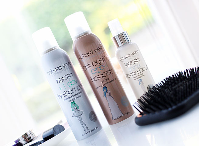 Beauty blogger reviews the Richard Ward Chelsea Collection Styling Products