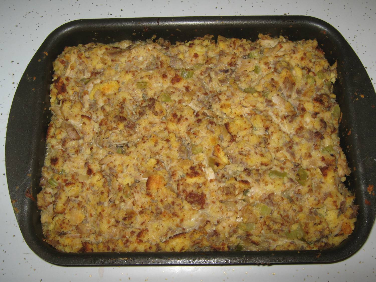 Okieladybug's Scrap N' More: Chicken and Dressing Casserole Recipe