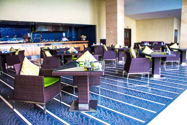 Fresco Poolside Bar on 6th floor at Hilton Bandung