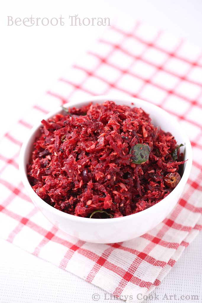 Kerala Beetroot Thoran