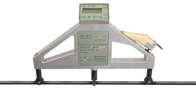 Измерение силы натяжения арматуры