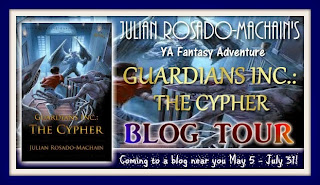 GUARDIANS INC.: THE CYPHER Blog Tour