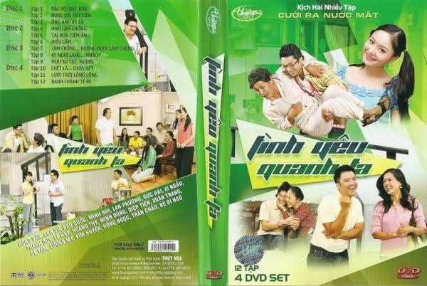 Trung tâm Thúy Nga: Tình Yêu Quanh Ta 2015 NTSC 4x DVD5 ~ Tình Yêu Quanh Ta | Hồng Vân, An...