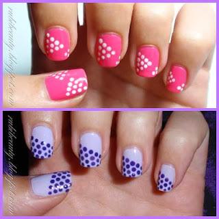 rubibeauty diseños dibujos variados uñas sencillos faciles puntos dots dotting tool DIY