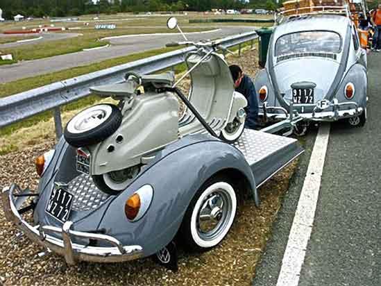 fotos curiosas - Página 7 VW-Beetle-Trailer