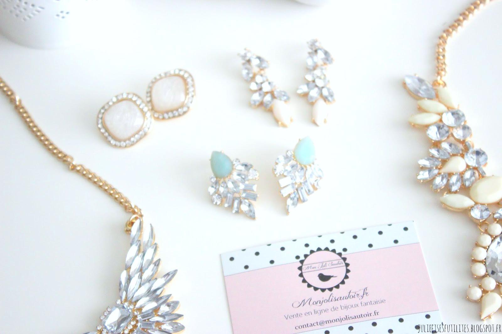 a la decouverte du site de bijoux accessoires mon joli With site de bijoux