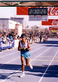 MARATÓN DE VALENCIA 1995