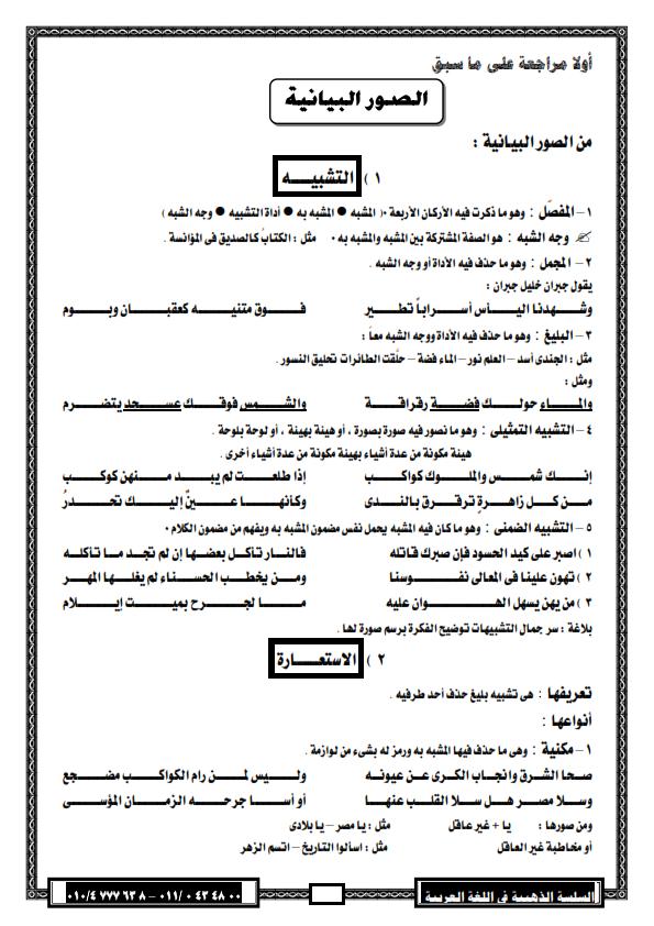 """لغة عربية: بالصور شرح بلاغة """"2"""" ثانوي وتدريباتها ترم اول لـ 2016 - صفحة 2 %D8%A8%D9%84%D8%A7%D8%BA%D8%A9+2013_002"""