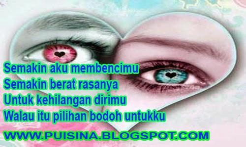 """Puisi Cinta Tentang Hatiku Pilu """"Edisi Arjuna Linglung"""""""