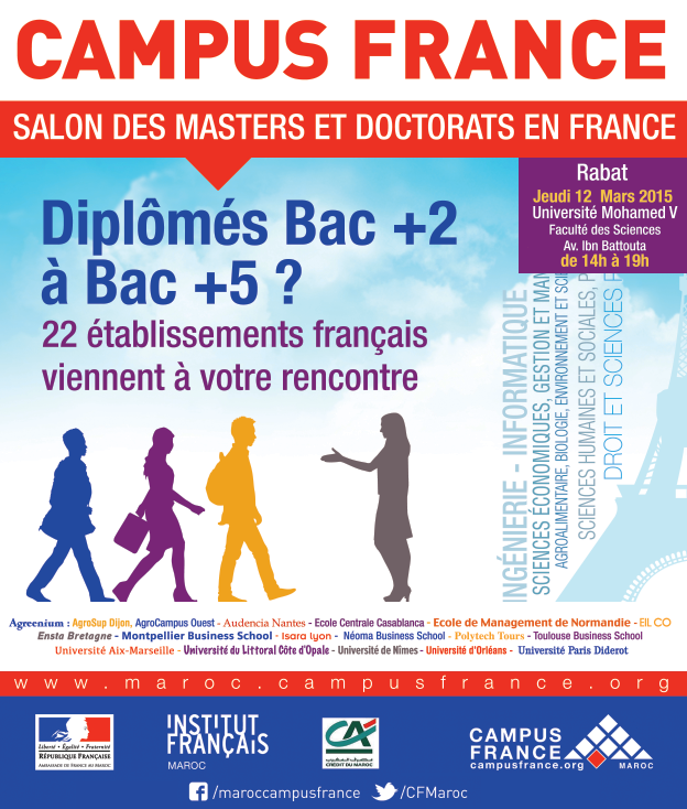 SALON DES MASTERS ET DES DOCTORATS EN FRANCE