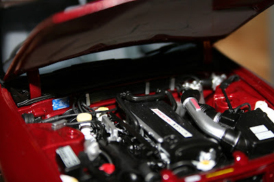 Kyosho Model Nissan Skyline Engine Compartment