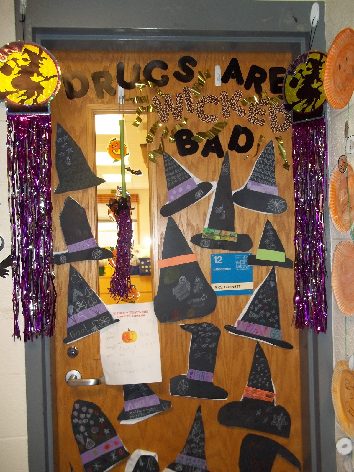 Second grade best red ribbon week door decorations drugs are wicked bad vtopaller Choice Image