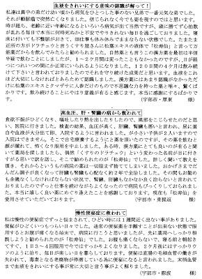 くすりのドラチュウ 松寿仙体験談(3)