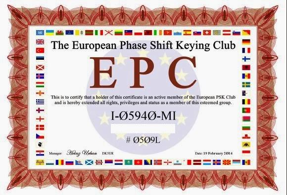 Iscrizione EPC