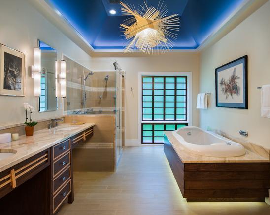 Desain Kamar Mandi Minimalis Menggunakan Shower