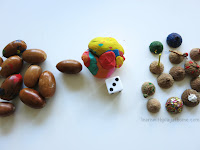 Acorn Number Game for Kids. Balancing Fun