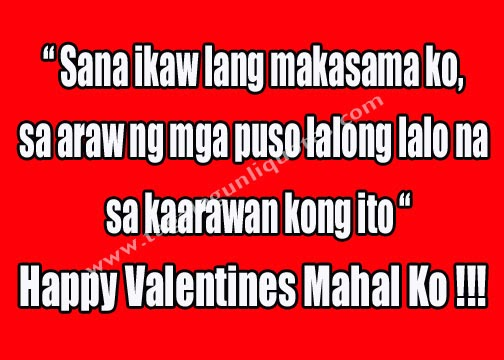 February Valentine Quotes Valentines Day Tagalog Quotes