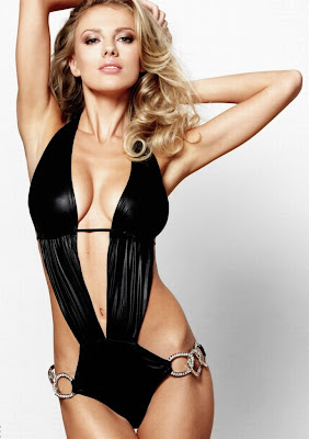 gorgeous Israeli model Bar Paly flaunting sexy body in Beach Bunny sultry swimwear outfits