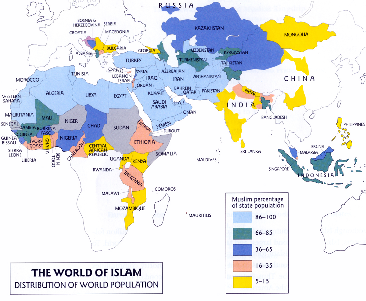 Israel - surrounded by an Islamic world