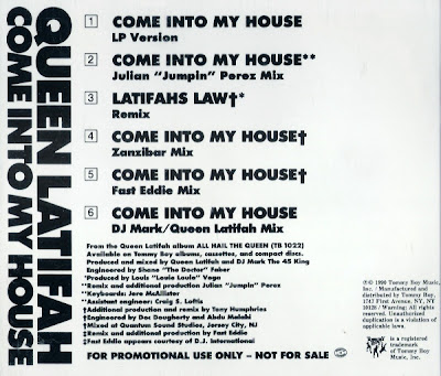 Queen Latifah – Come Into My House (Promo CDS) (1990) (320 kbps)