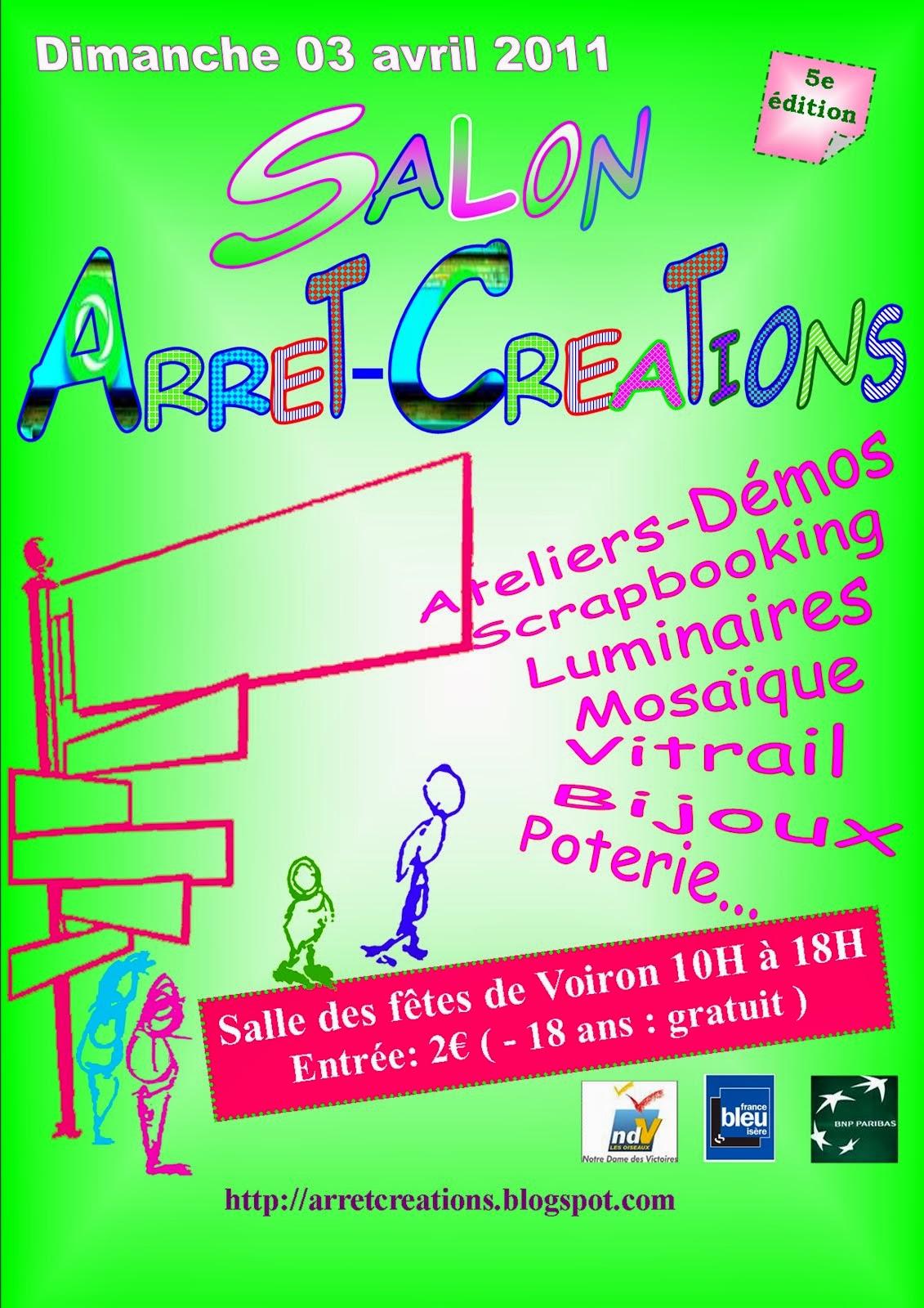 Affiche du salon 2011