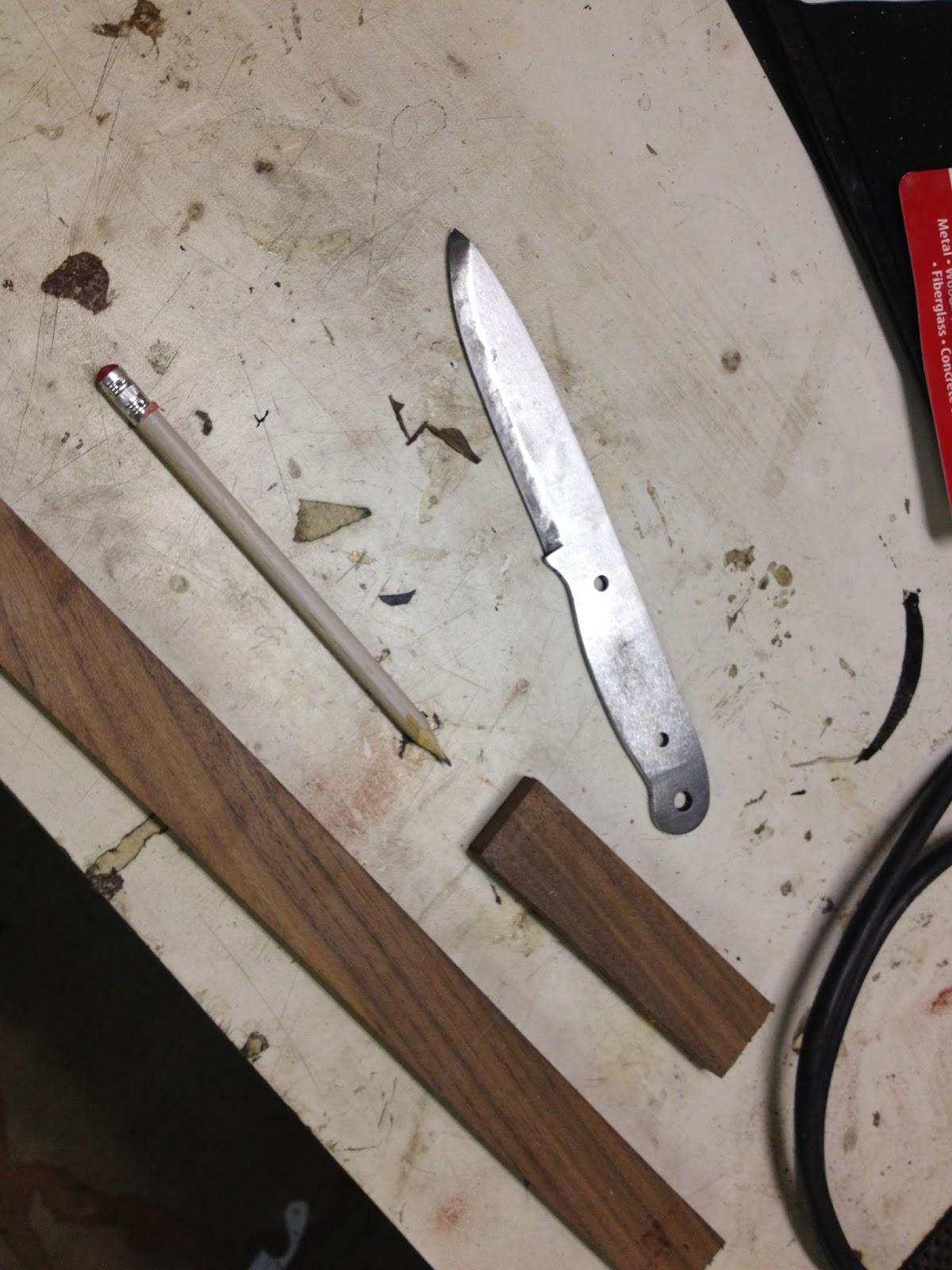 Как изготовить нож в домашних условиях фото