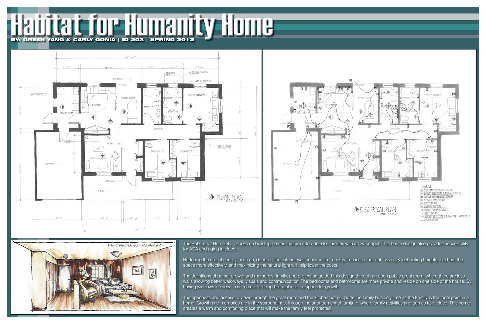 Carly gonia habitat for humanity for Habitat for humanity house plans