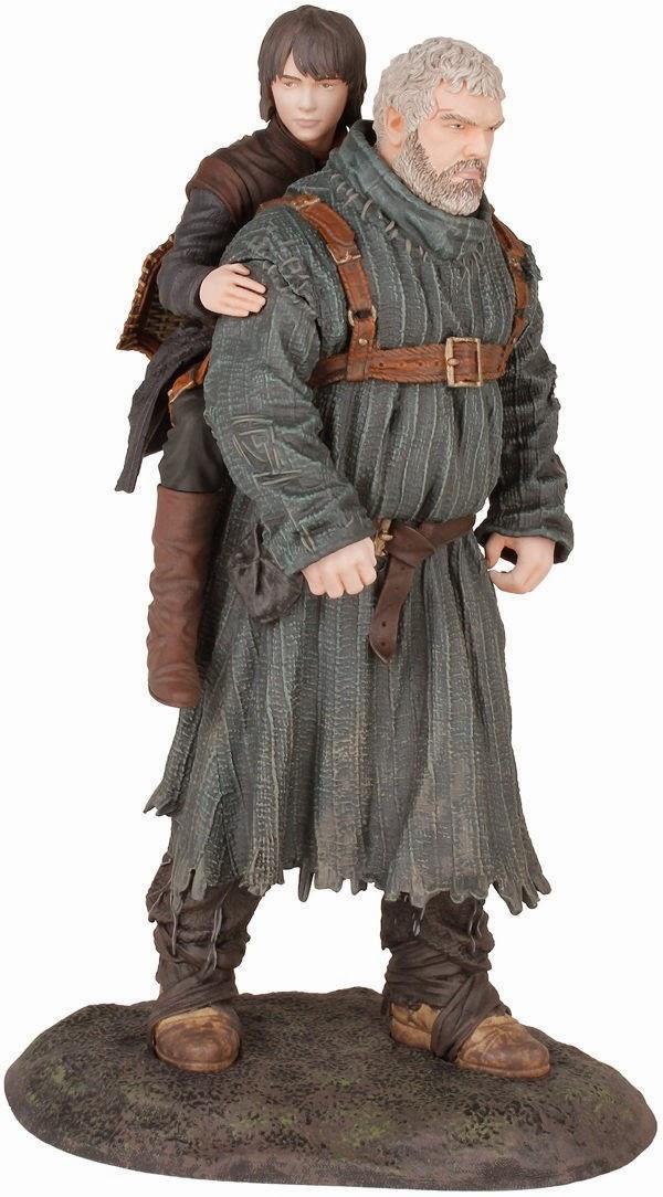 Bran y Hodor Figura Dark Horse
