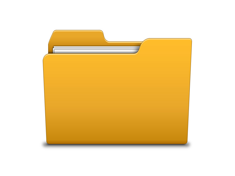Folder Icon Psd Softarea In