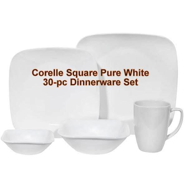 CORELLE® Livingware™ 30-Pc Dinnerware Set | Adorable Muslimah\'s Kitchen