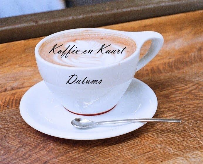 Koffie en Kaart Datums