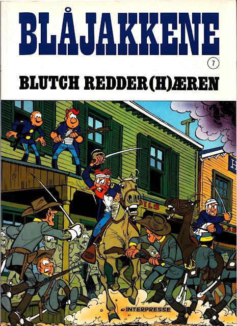 Blåjakkene album 7 - Blutch redder (h)æren