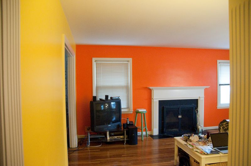 Joi blog 1st step paint color not - Interior orange paint colors ...