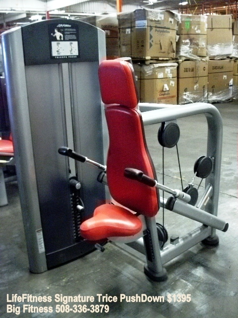 Used exercise equipment refurbished
