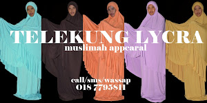 Telekung Lycra Muslimah Appearal