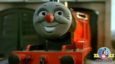 The worlds strongest engine GWR Duck and Thomas the Train James the red nosed engine number five
