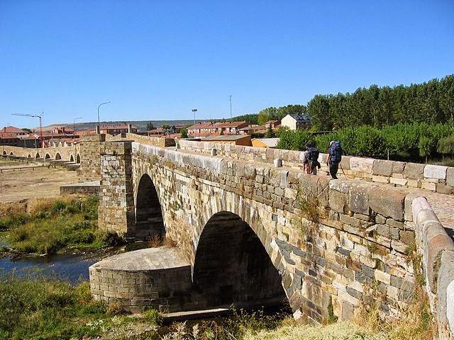 Relato sobre El Puente de Órbigo