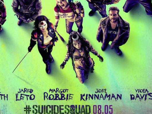 Nuevo póster de 'Suicide Squad' con todos sus protagonistas