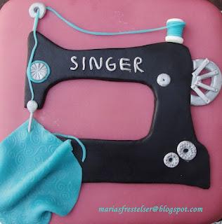 Symaskinstårta