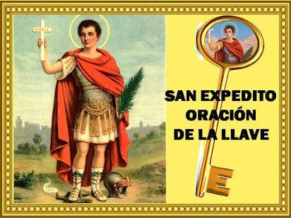 SAN EXPEDITO, PATRÓN DE LAS CASOS MUY URGENTES