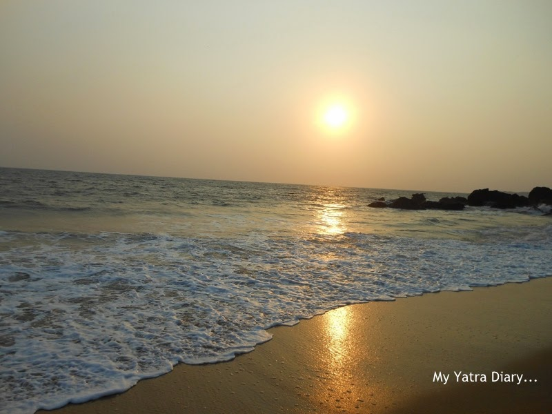 Sunset at Kannur Beach, Kerala