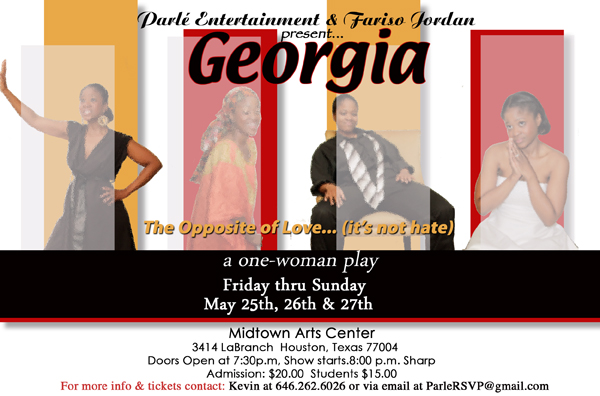 georgia one-woman play