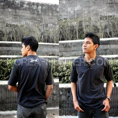 KOREA-HUNTER.com jual murah V Neck  Crows Zero - Genji Rope | kaos crows zero tfoa | kemeja national geographic | tas denim korean style blazer