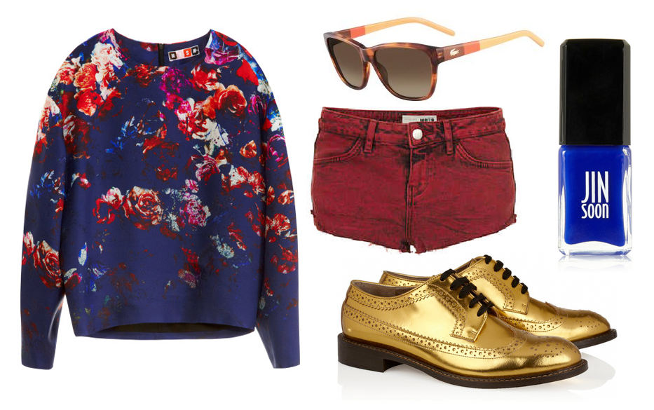 Vampire Weekend Modern Vampires Of The City Floral Msgm - floral    Vampire Weekend Modern Vampires Of The City Floral