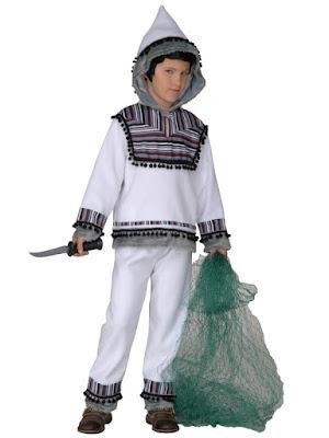 Udklædt som eskimo
