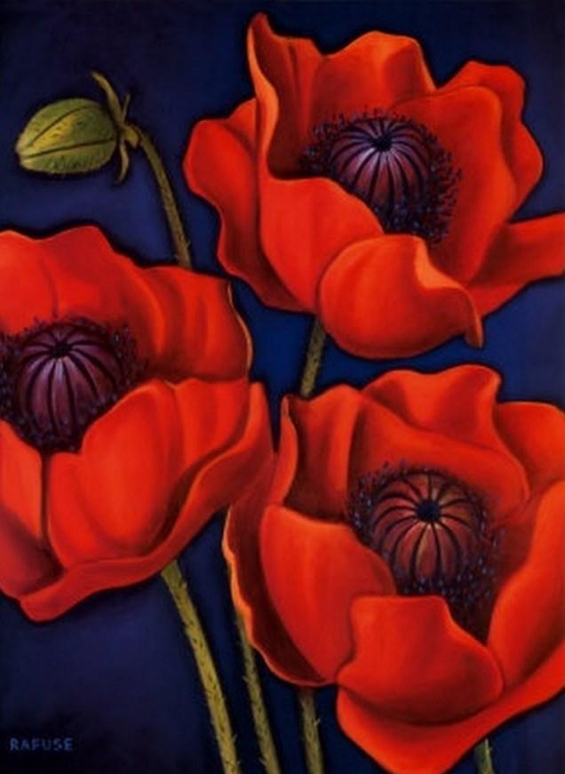 Pinturas cuadros lienzos pinturas de flores modernas - Cuadros flores modernas ...