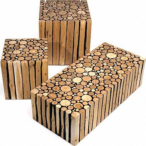 Wood Log Furniture Plans